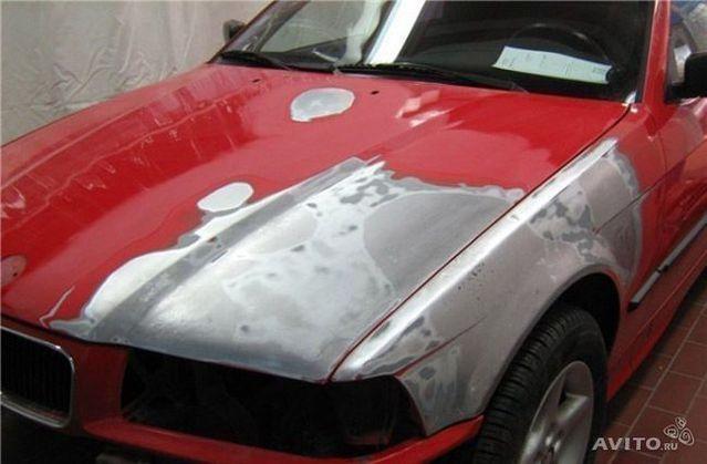 Как шпаклевать машину под покраску