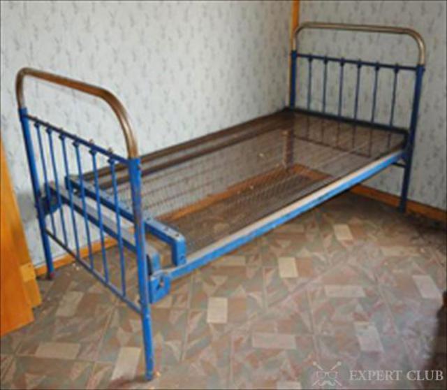 как можно сделать из железной кровати