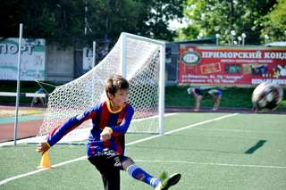Определились первые призеры турнира по футболу среди дворовых команд на кубок главы администрации УГО