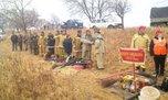 Тренировка добровольных-пожарных дружин прошла в Уссурийском городском округе