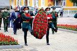 В День памяти и скорби в Уссурийске возложили цветы к Вечному огню
