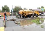 Сильный дождь вновь создал угрозу подтопления в Уссурийске