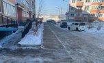 «Горячая линия» по уборке дворов от наледи работает в Уссурийске