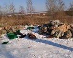 Гниение и смрад: приморцы нашли мешки с телами на лесной дороге