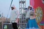 На центральной площади Уссурийска торжественно закрыли зимний городок