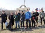 Субботник со спортсменами прошел в Уссурийске