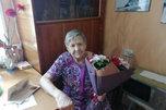 Труженицу тыла поздравили с 95-летним юбилеем в Уссурийске