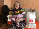 Труженицу тыла из Уссурийска поздравили с юбилеем
