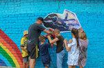Посвященные космосу арт-объекты создали воспитанники реабилитационных центров Приморья