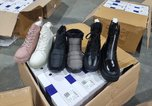 Сотрудники Уссурийской таможни пресекли ввоз более 6 тысяч пар незадекларированной обуви