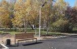 В Новоникольске на месте пустыря появилась пешеходная аллея