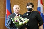 Юбилей отметил Заслуженный врач России, Почетный гражданин Уссурийска Виктор Егоров