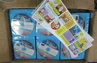 Уссурийская таможня задержала 5800 религиозных комиксов и 900 дисков
