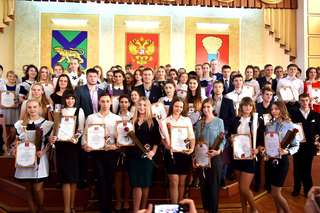 В Уссурийске лучшую молодежь округа наградили премией «Триумф»