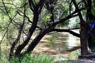 В реках округа снова зафиксирован подъем уровня воды