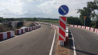 Открыт проезд по временному мосту в Осиновке