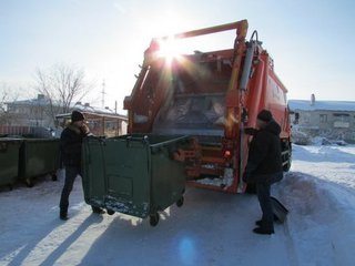 За несвоевременный вывоз мусора уссурийцам сделают перерасчет