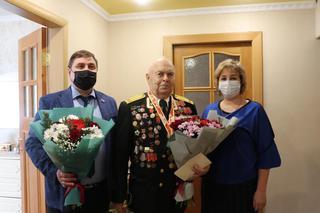 В Уссурийске поздравили с днем рождения ветерана ВОВ