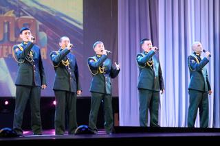 Военнослужащих и ветеранов 5-й Армии поздравили с Днем защитника Отечества