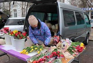 Весенняя ярмарка цветов открылась в Уссурийске