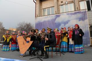 «Заигрыши»: второй день масленичной недели отметили в Уссурийске