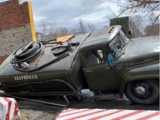 Суровая техника времен СССР не справилась с дорогами Уссурийска