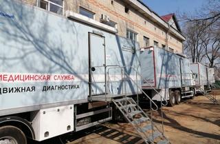 Детский медицинский автопоезд приехал в Уссурийск