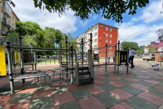 Две новые спортивные площадки построили в Уссурийске